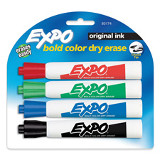Sanford Expo Chisel Tip Dry-erase Markers