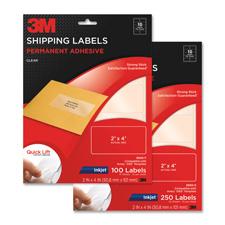 3M Permanent Inkjet Film Shipping/Address Labels