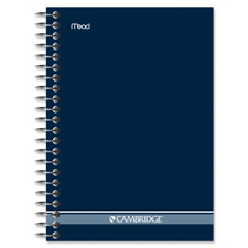 Mead Cambridge Fashion Wire Bound Notebook
