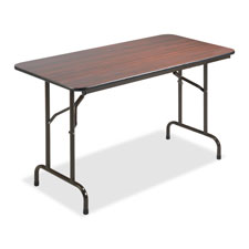 "Folding table, 60""x30""x29"", mahogany, sold as 1 each"