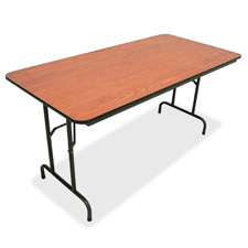 Lorell 30x72 Laminate Economy Folding Tables
