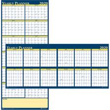 Doolittle Laminated Yearly Wall Calendar