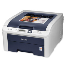 Brother HL3040CN Dgtal Color Printer w/Networking