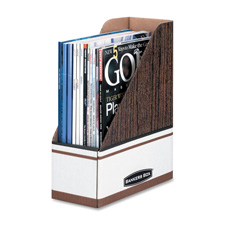 Fellowes Premium Corrugated Magazine File