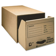 Gussco Pull Drawer Corrugated Storage Files
