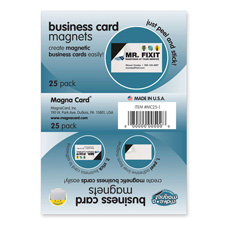 Magna Card Magnetic Business Cards