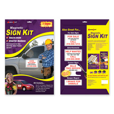Magna Card Magnetic Automobile Sign Kit