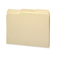 Smead Recycled 1/3 Cut Manila File Folders