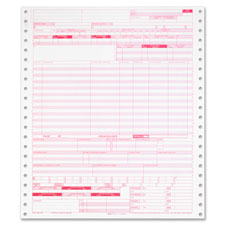 "Billing forms,continuos,1-part,20 lb.,9-1/2""x11"",2500/ct,we, sold as 1 carton"