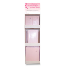 Rediform Pink Ribbon Planners Power Wing Display