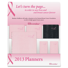 Rediform Pink Ribbon Planners Counter Display