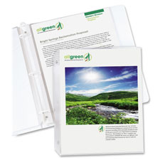 C-Line Biodegradable Poly Sheet Protectors