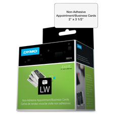 Dymo Nonadhesive Cardstock Labels