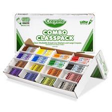Crayola Lg Crayon & Washable Marker Classpack