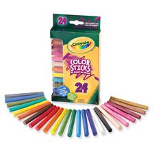 Crayola 24 ct. Color Sticks Woodless Pencils