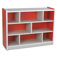 Balt Sturdy Brite Kids Red Storage Units