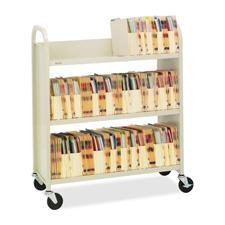 Bretford Traditional Single-sided Book Truck