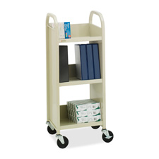 Bretford Mobile 3-Shelf Book/Equipment Cart