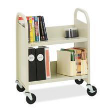 Bretford 2-Shelf Mobile Book & Utility Truck