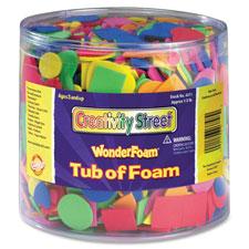Chenille Kraft Wonderfoam Tub of Shape Pieces