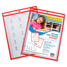 C-Line Reusable Dry-erase Pocket