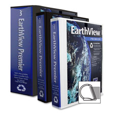Aurora Prod. Earthview Premier D-Ring Binders
