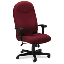 Mayline Executive High-back Tailbone Cut-out Chair