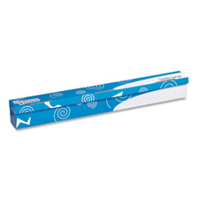 Trimmer storage box, w/ hook-and-loop closure, blue/white, sold as 1 each