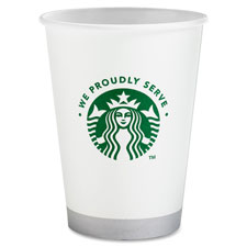 Starbucks Compostable 12oz Hot/Cold Cups