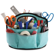 Ideastream Find-It Durable Canvas Supply Caddy