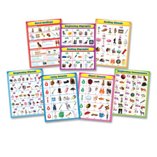 Carson Language Arts Chartlet Set