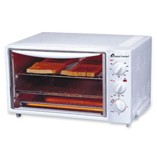 """Toaster oven, 16""""x12""""x10"""", white, sold as 1 each"""