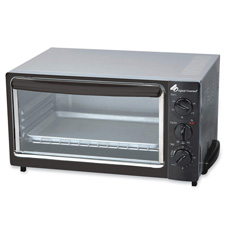 "Toaster oven, 16""x12""x10"", stainless steel/ black, sold as 1 each"