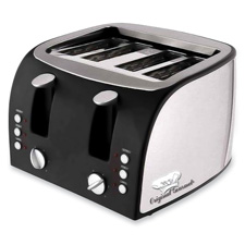 "4-slice toaster, 12-1/2""x11-1/2""x8-1/4"", stainless steel, sold as 1 each"