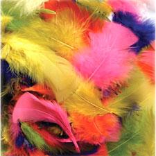 Chenille Kraft Plumage 1oz Feathers