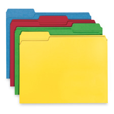 Smead 1/3 Cut Recycled File Folders