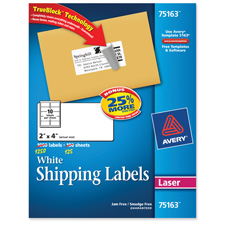 Avery Create Professional Laser Shipping Labels
