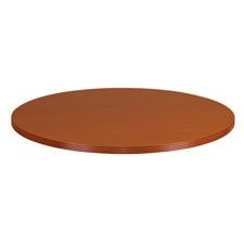 Rudnick Wood Veneer Series Round Table Tops