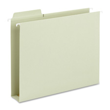 "SMEAD MANUFACTURING CO Box Bottoms Hanging Folders, 2"" Exp, Legal, 20/BX, Moss at Sears.com"