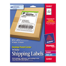 Avery Postal Package Shipping Labels