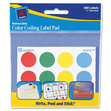 Avery Color-coding Label Pads