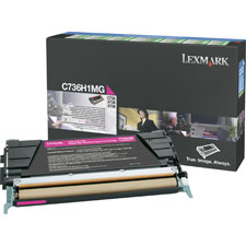 Lexmark C736H1CG/MG/YG Toner Cartridges