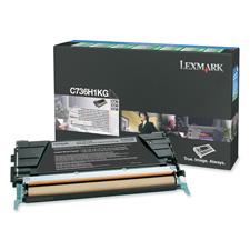 Lexmark C736H1KG Toner Cartridge