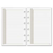 """Plnr note pages refill, 8-1/2""""x11', 30shts, rld blks, we, sold as 1 each"""