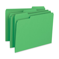 Bus. Source Color-coding 1-Ply File Folders
