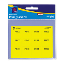 Avery Yellow Price Multi-use Labels