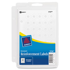 Avery Self-adhesive Reinforcement Ring Labels