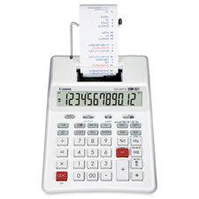 Canon 12-Digit Recycled Desktp Printing Calculator