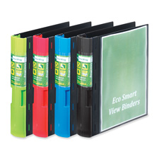 Cardinal Eco Smart Recycled View Binders
