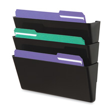 Deflect-O Recycled Docupocket Wall Files